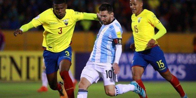 نتيجة مباراة الأرجنتين والإكوادور اليوم 9-10-2020