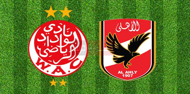 نتيجة مباراة الأهلي والوداد اليوم 23-10-2020