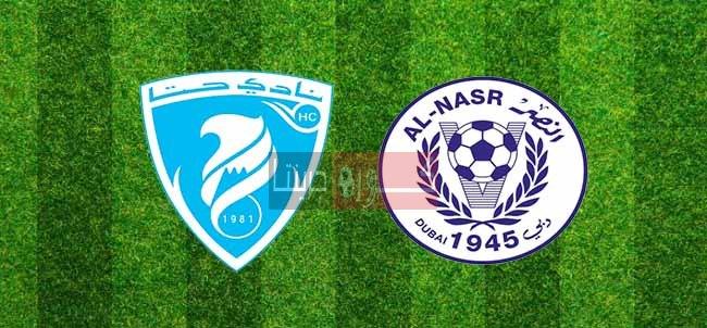 مشاهدة مباراة النصر وحتابث مباشر اليوم 8-11-2020