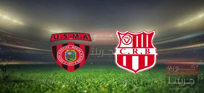 مشاهدة مباراة شباب بلوزداد وإتحاد الجزائر بث مباشر اليوم 30-4-2021
