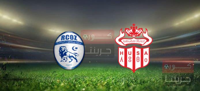 مشاهدة مباراة حسنية أكادير وسريع وادي زم بث مباشر اليوم 2-4-2021