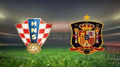 مشاهدة مباراة إسبانيا وكرواتيا بث مباشر اليوم 28-6-2021