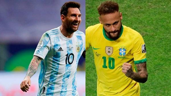 يلا شوت مشاهدة مباراة الأرجنتين والبرازيل بث مباشر اليوم 11-7-2021