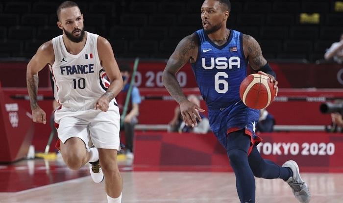 مشاهدة مباراة أمريكا وفرنسا بث مباشر اليوم فى كرة السلة نهائى أولمبياد طوكيو