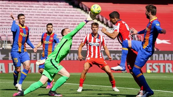 الليجا الاسبانية تحدد موعد مباراة أتلتيكو مدريد وبرشلونة